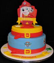 PAW PATROL SHIELD CAKE MARSHAL.JPG