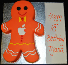 Ginger Bread man with Apple Logo.JPG