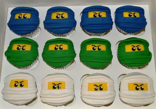 Ninja Cupcakes.JPG