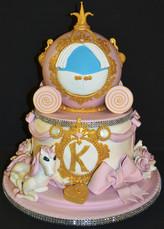 CINDERELLA COACH CAKE.JPG