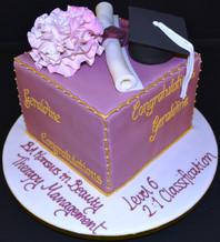 GRADUATION CUBE CAKE.JPG