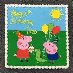 PEPPA PIG BIRTHDAY PARTY SCENE ON SQUARE