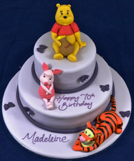 Winnie the Pooh duo with Tigger & Piglet