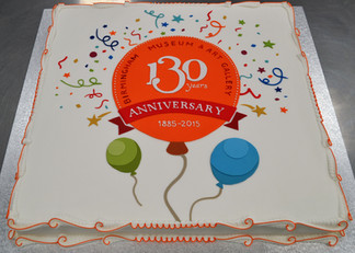 Square with 130th Anniversary of Gallery