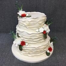 Ruffle wedding cake.JPG
