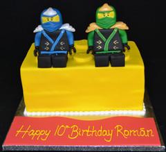 Lego Brick with Ninjas.JPG