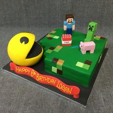 Pacman and MineCraft.JPG