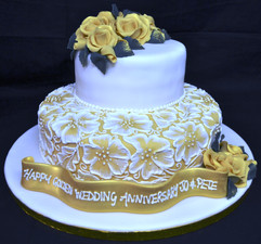 Formal Duo with brushed icing pattern.JP