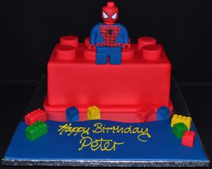 LegoBrick & Spiderman.JPG