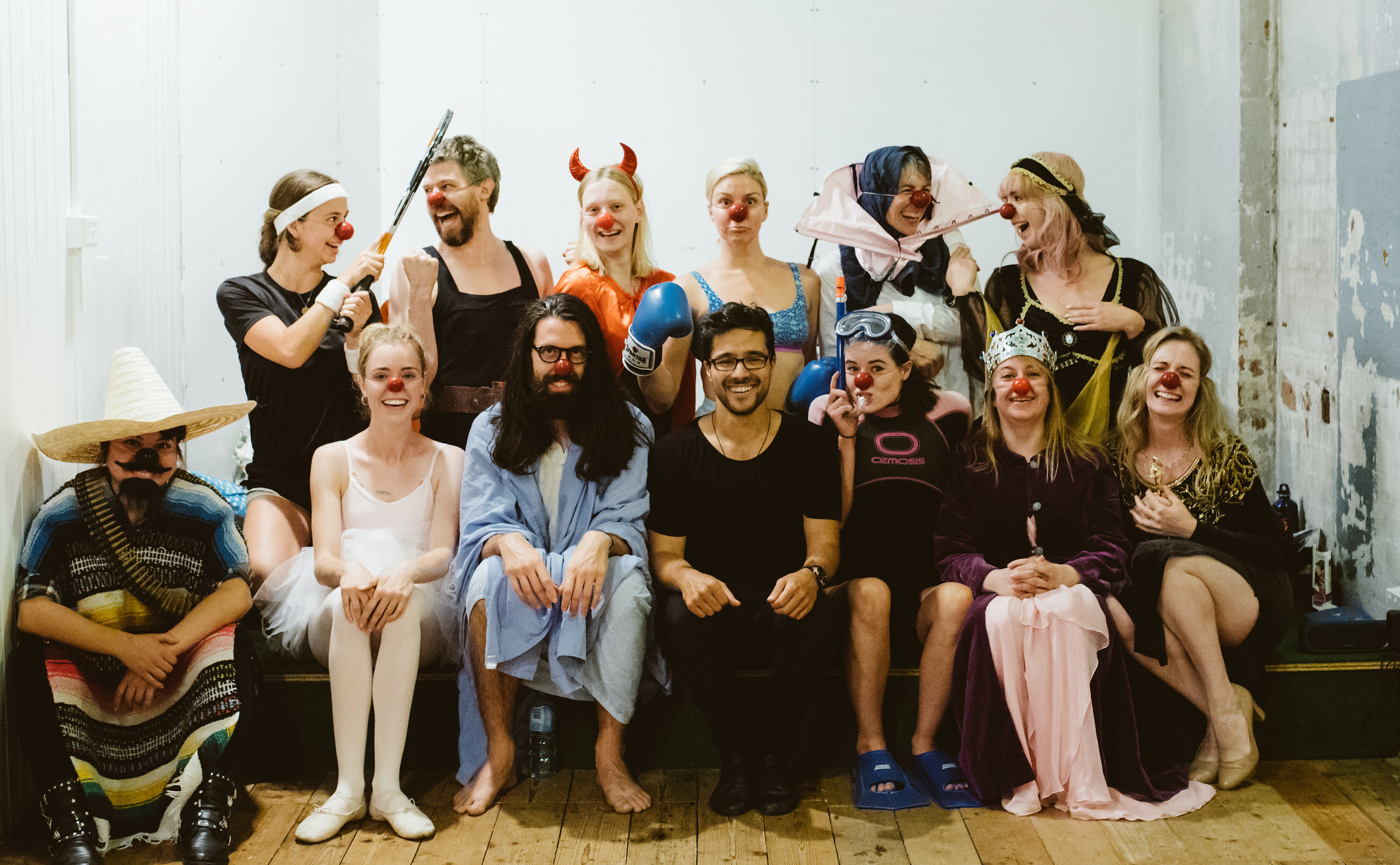 Term 3 - Clowning and Ensemble Building