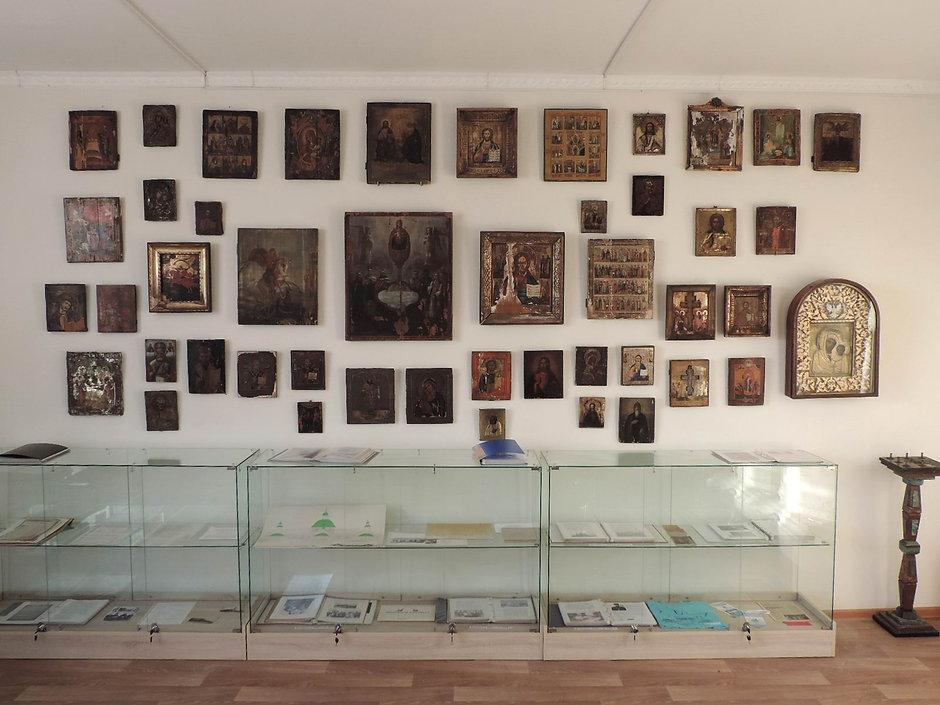 Музей. Витрина 1