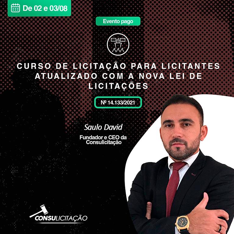 CURSO DE LICITAÇÃO PARA LICITANTES ATUALIZADO COM A NOVA LEI DE LICITAÇÕES, LEI Nº 14.133/2021.