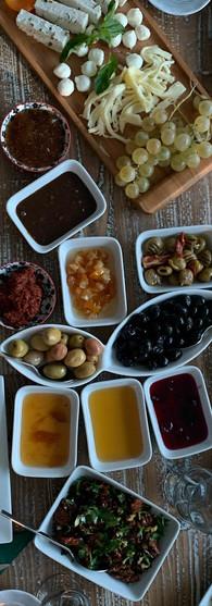 Kadifeli Konak kahvaltısı