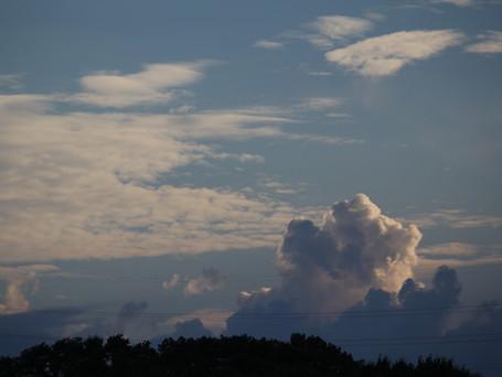 モクモク中の入道雲です。