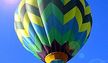 25. Les montgolfières