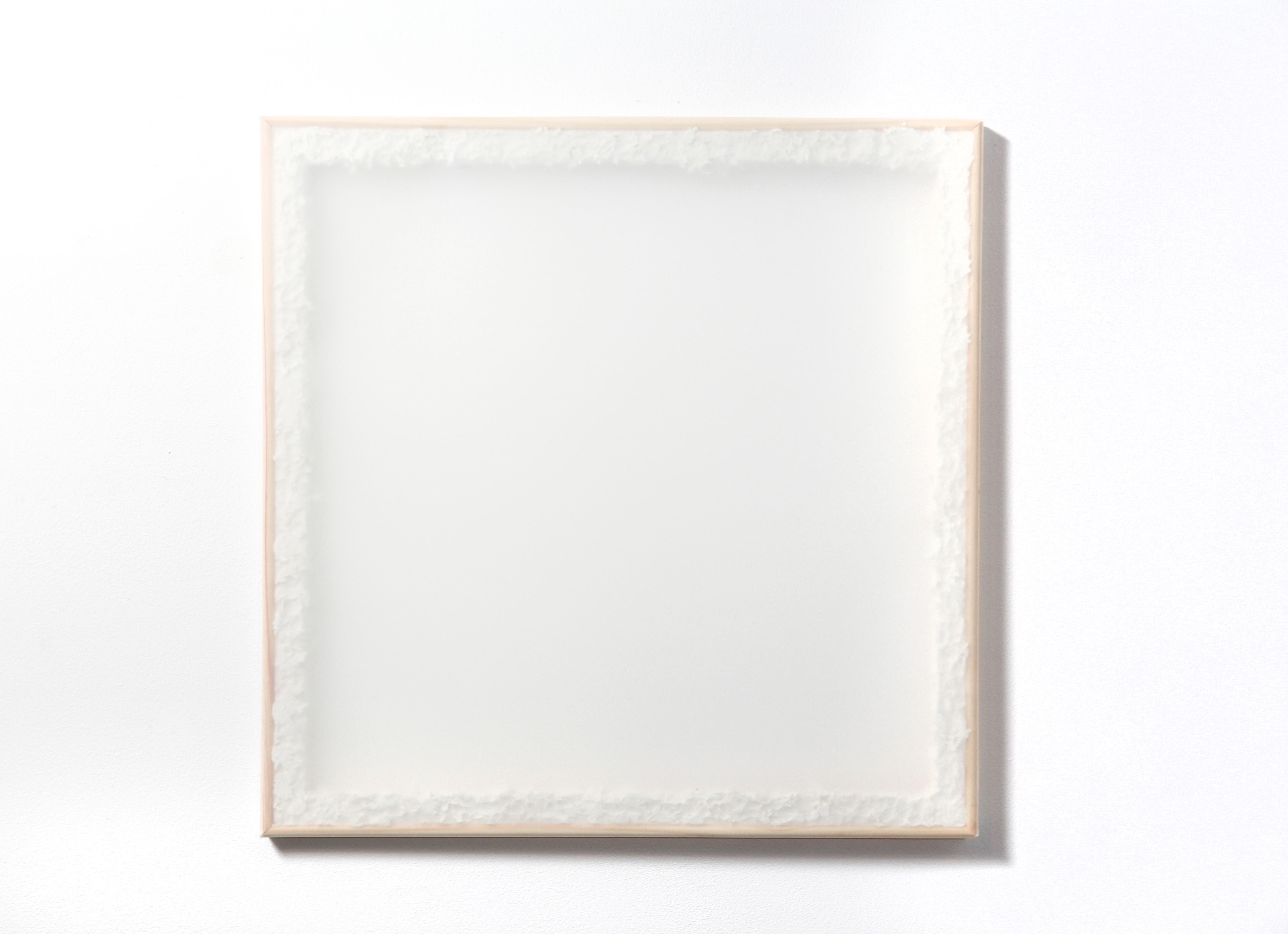 Square - White Texture. 2018