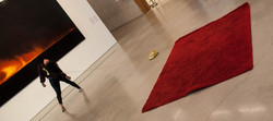 Site-specific performance Call 911 Again at Perez Art Museum