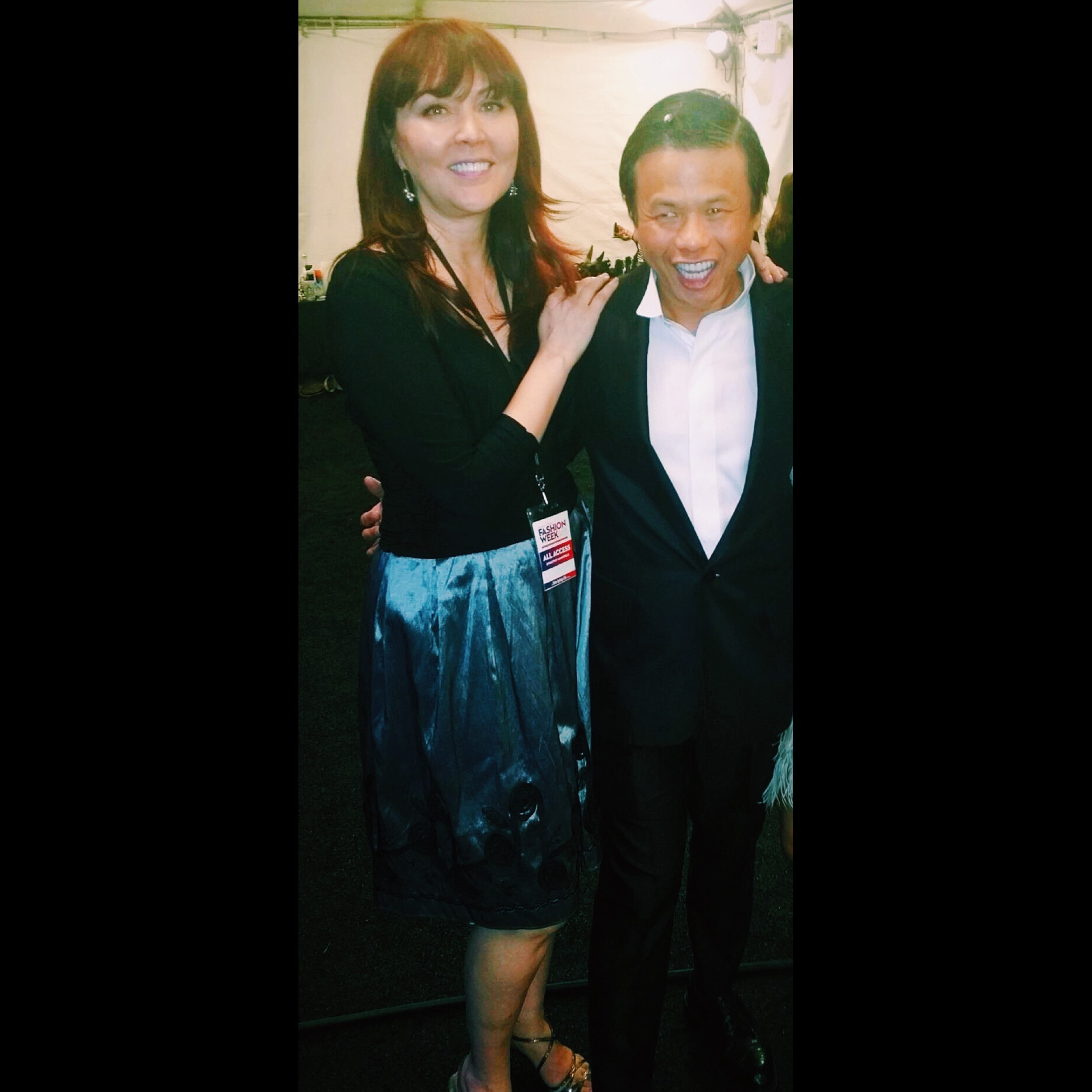 Our CEO Dorothy & Designer Zang Toi