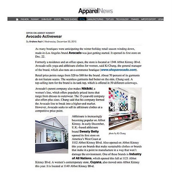 Apparel News