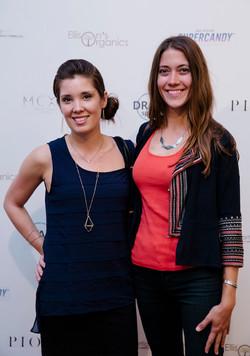 Elaine Butcher and Lauren Samay