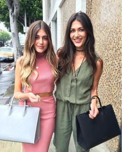 Hanna and Sara Montazami