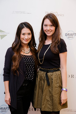 Mariko Reyes and Jasmine Wilson of Beq Pettina