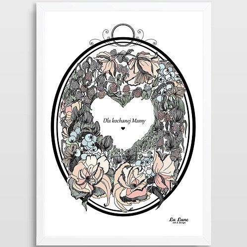 Plakat Wieniec Dzień Matki