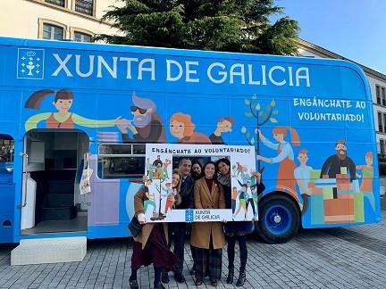 A Xunta apoia á entidade Aliad Ultreia de Lugo a través dun programa de Voluntariado Sénior
