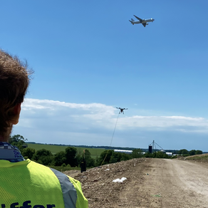 Operating Drones Near Airports and Controlled Airspace