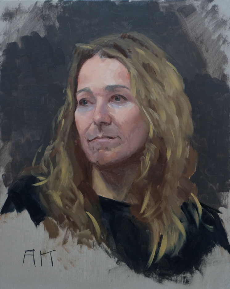 Portraetstudie-Anne