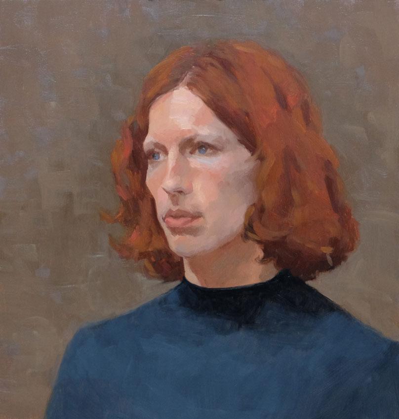 Portraetstudie-Lise