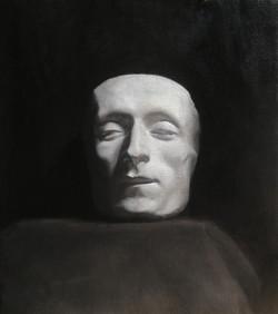 Oliemaleri-af-Giacomo-Leopardis-maske