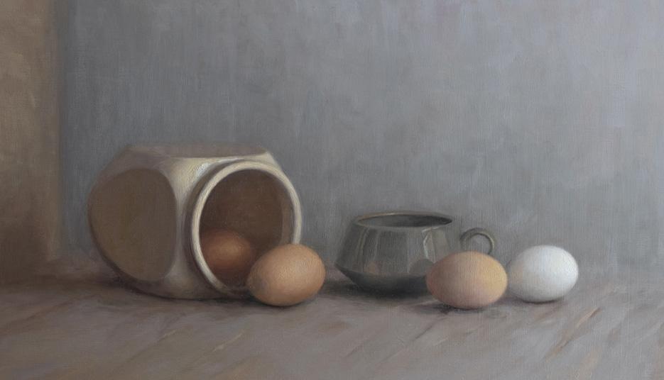 Stilleben-maleri-aeg-og-porcelaen