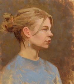Portraetstudie-Frederikke
