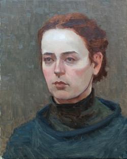 Portraetstudie-Martha