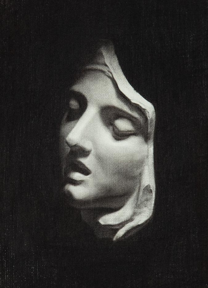 Kultegning-af-Berninis-st-Teresa