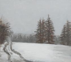 Landskabsmaleri-studie-Vintervejr