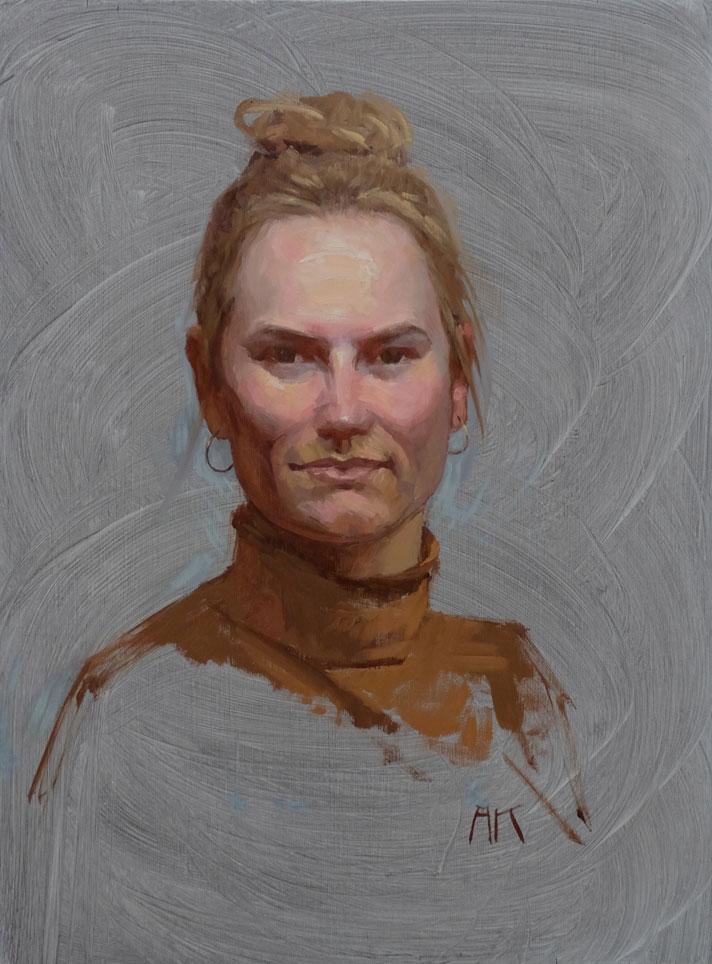 Portraetstudie-Andrea