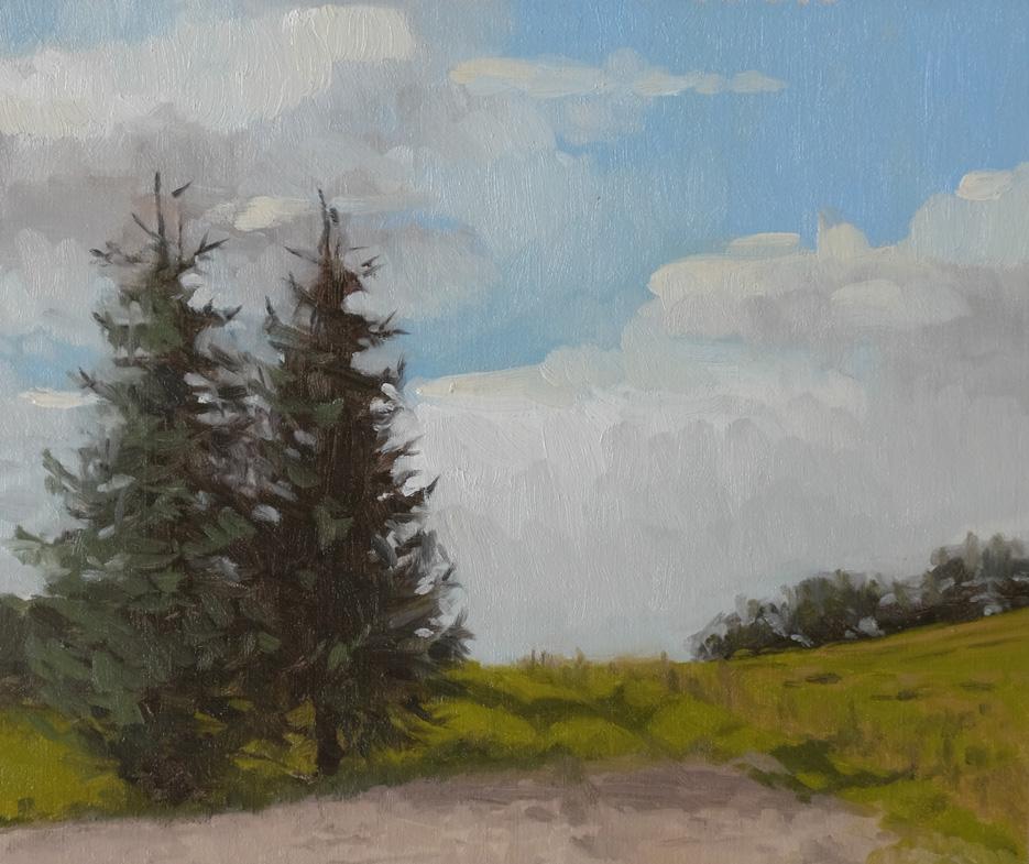 Landskabsmaleri-studie-Graner