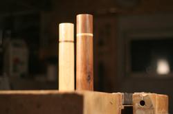Walnuss / Esche   (30cm x 5cm)   120€ pro Mühle