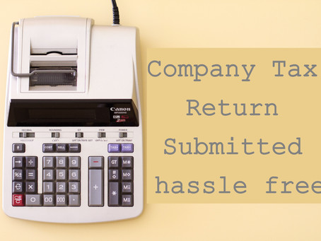We can get your Company Tax Return Submitted