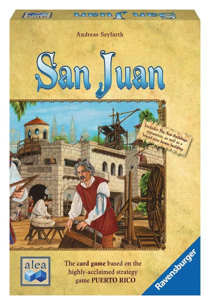 The San Juan second edition box.