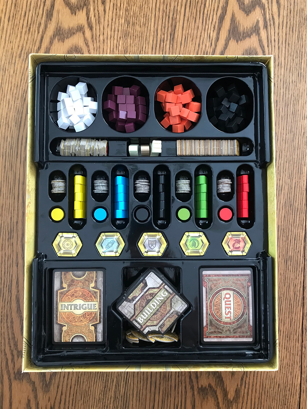Lords of Waterdeep's perfectly designed insert.
