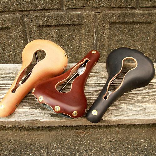 GILLES BERTHOUD / Aravis / Leather Saddle / Titanium Rail