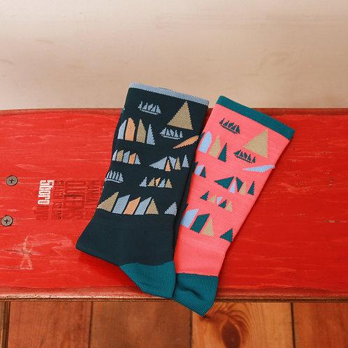 The ATHLETIC Portland USA / Ride Tokyo Island Socks