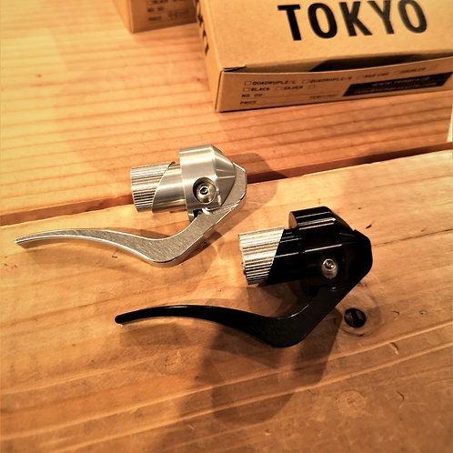tempra / Bar End Double Brake Lever / Custom Parts For Fixed Gear Bike