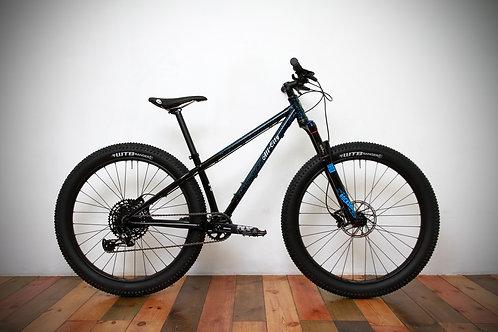 All-City / ELECTRIC QUEEN 27.5+ Complete Bike / Cyan Splatter