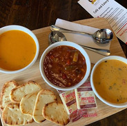 We now offer a soup shareable here at th