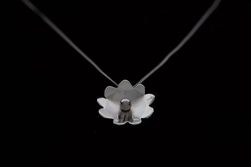 9-Petal Silver flower