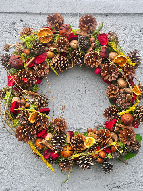 Dried Spice Wreath